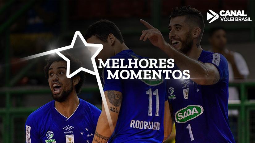 Melhores momentos de EMS Taubaté Funvic vs Sada Cruzeiro Vôlei