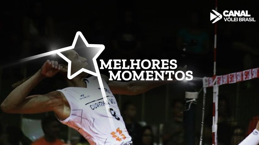 Melhores momentos de E.C. Pinheiros vs Curitiba Vôlei