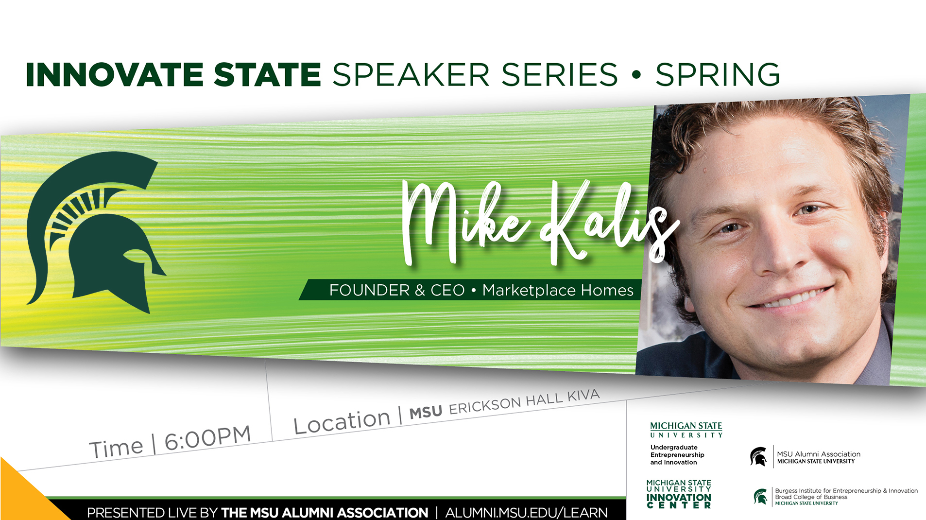 livestream cover image for Innovate State | Mike Kalis