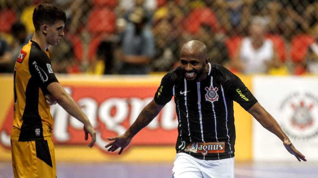 Melhores momentos e pós-jogo - Magnus Futsal-Sorocaba 3x7 Corinthians - LPF 2018