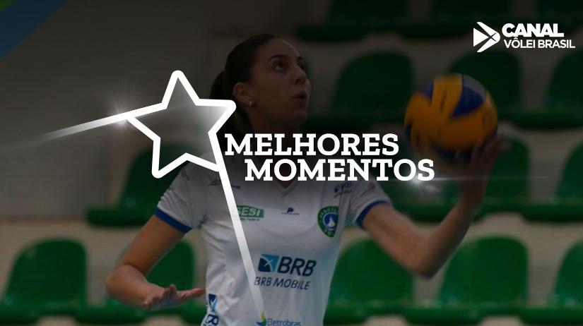 Melhores momentos de BRB/Brasília Vôlei vs E.C. Pinheiros