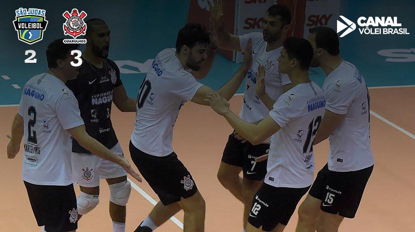 São Judas Voleibol vs Corinthians Guarulhos