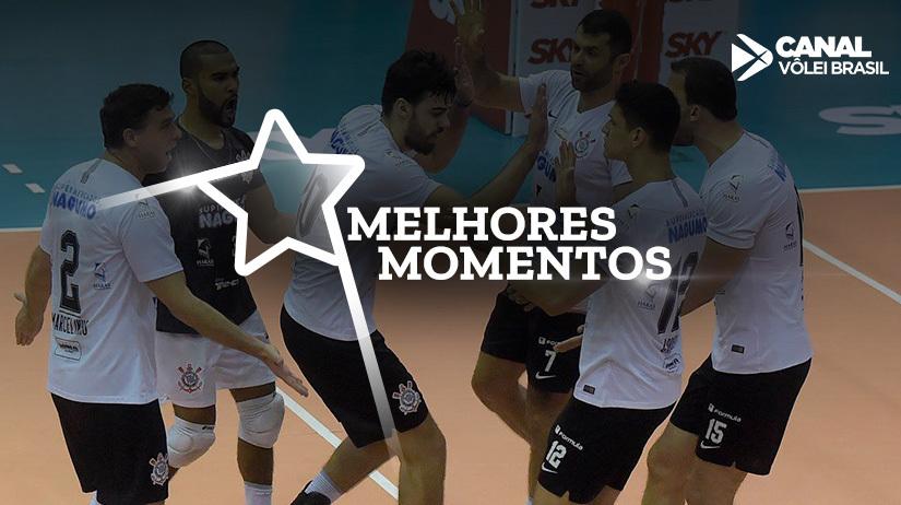 Melhores momentos de São Judas Voleibol vs Corinthians Guarulhos