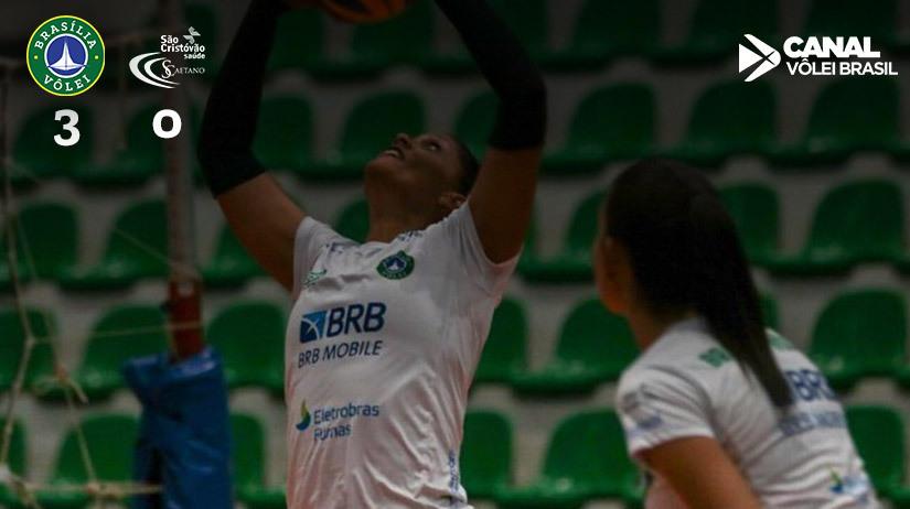 BRB/Brasília Vôlei vs São Cristóvão Saúde/São Caetano