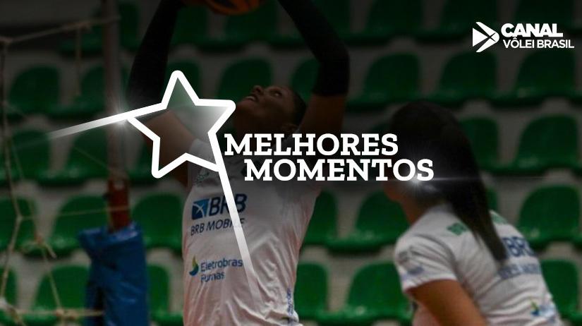 Melhores momentos de BRB/Brasília Vôlei vs São Cristóvão Saúde/São Caetano