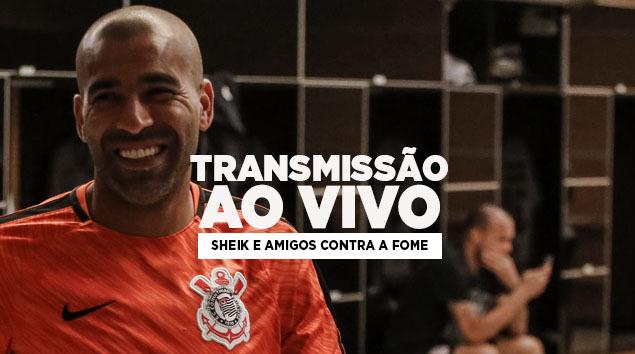 Sheik e Amigos contra a fome na Arena Corinthians