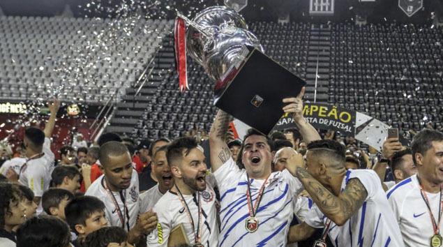 É campeão da Liga Paulista de Futsal!