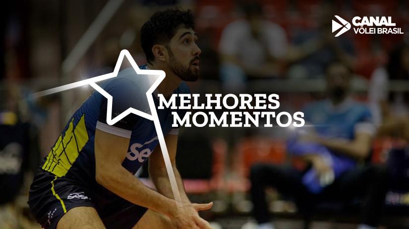 Melhores momentos de Sesc-RJ vs São Francisco Saúde/Vôlei Ribeirão