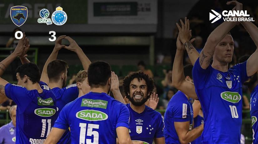 São Francisco Saúde/Vôlei Ribeirão vs Sada Cruzeiro Vôlei