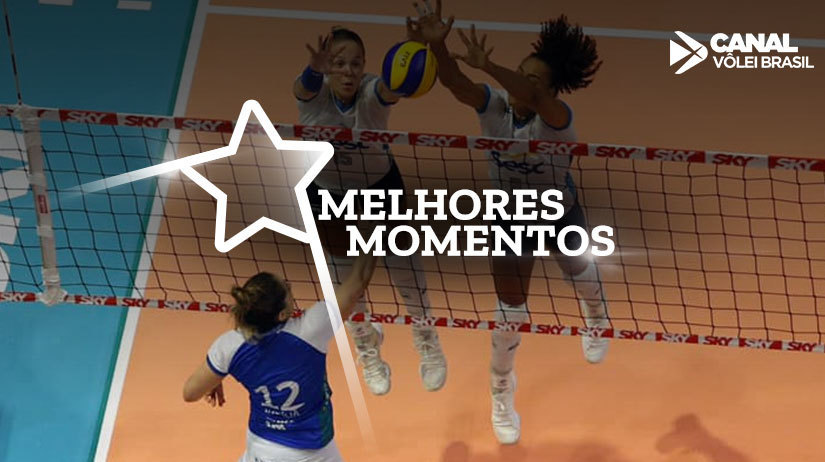 Melhores momentos de Curitiba Vôlei vs Sesc-RJ