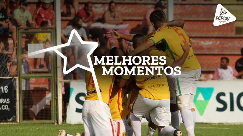 Melhores momentos de Brusque vs Joinville