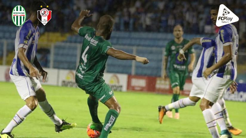 Metropolitano vs Joinville
