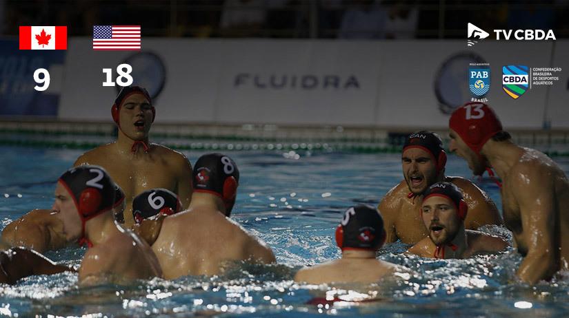 Canadá vs EUA | Copa Uana de Pólo Aquático (Masculino)