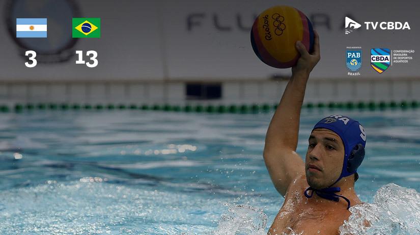 Argentina vs Brasil | Copa Uana de Pólo Aquático (Masculino)