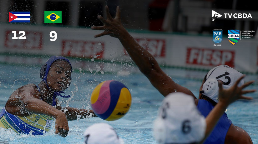 Cuba vs Brasil | Copa Uana de Pólo Aquático (Feminino)