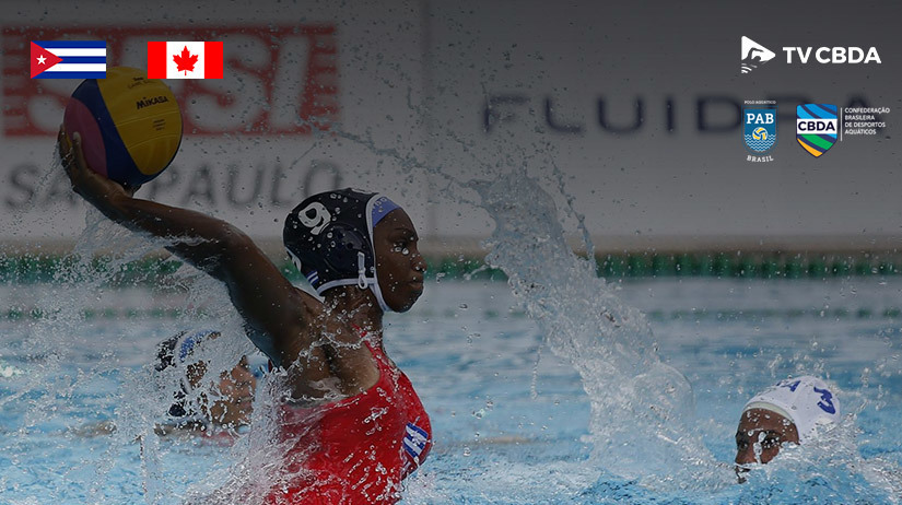 Cuba vs Canadá | Final | Copa Uana de Pólo Aquático (Feminino)