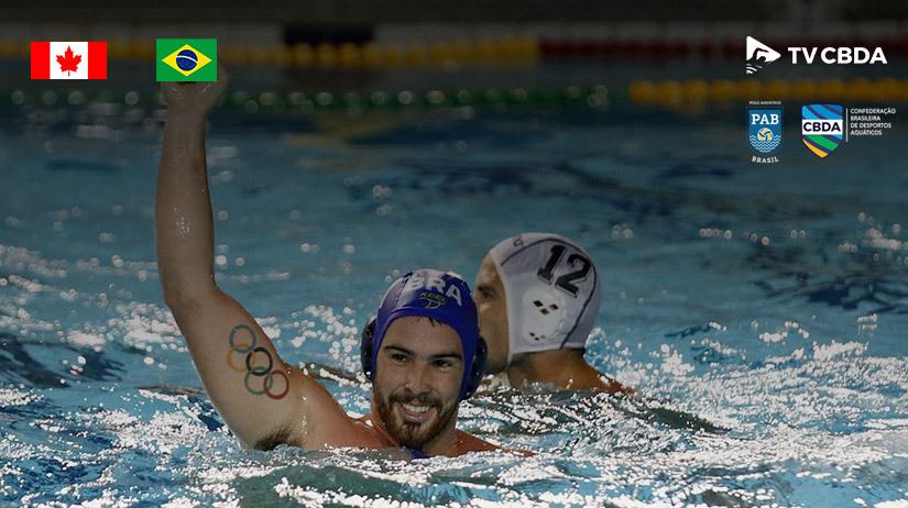 Canadá vs Brasil | Copa Uana de Pólo Aquático (Masculino)