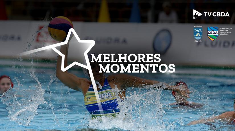 Melhores momentos de Cuba vs Brasil | Copa Uana de Pólo Aquático (Feminino)