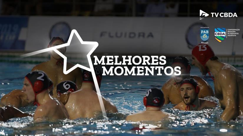 Melhores momentos de Canadá vs EUA | Copa Uana de Pólo Aquático (Masculino)
