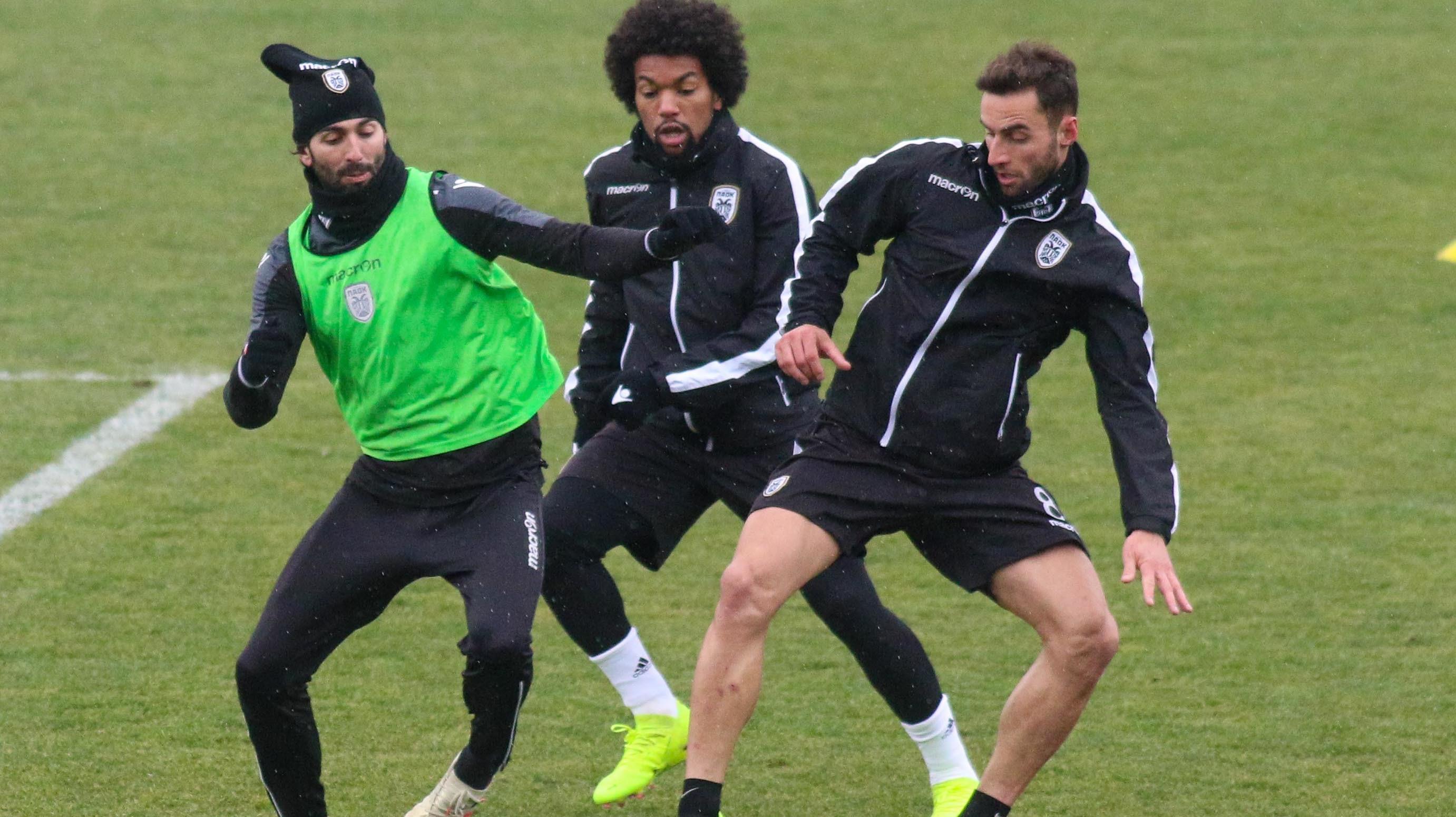 Training match highlights