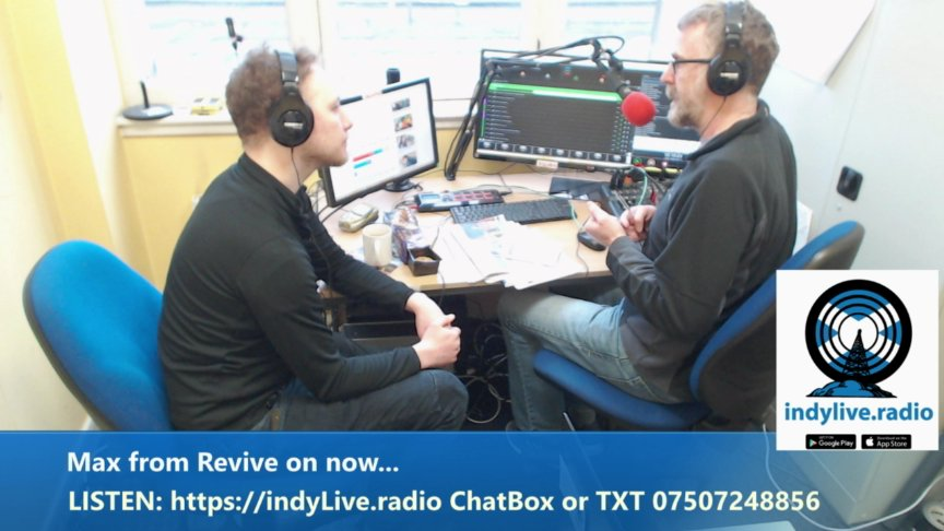 Norrie Hunter Show 11AM-2PM https://indyLive.radio Chat Box & TXT 07507248856
