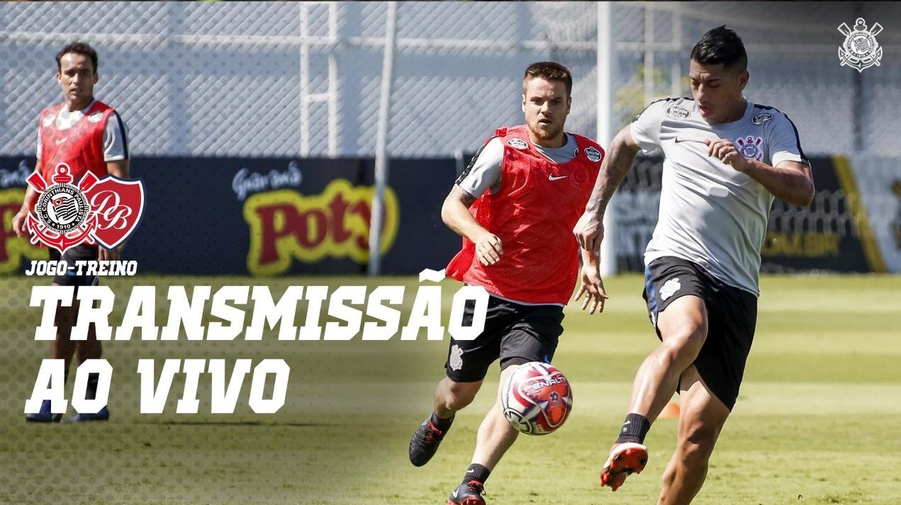 Corinthians vs Desportivo Brasil - Jogo Treino