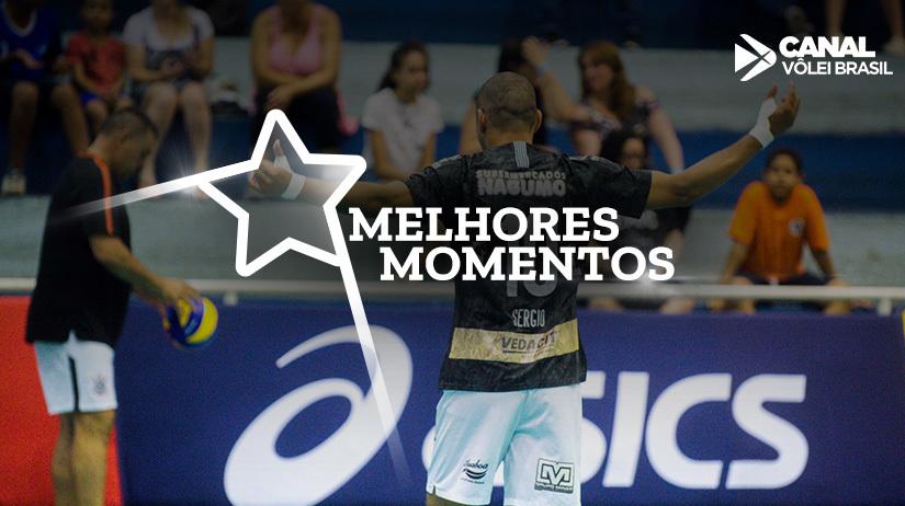 Melhores momentos de Corinthians Guarulhos vs Caramuru Vôlei
