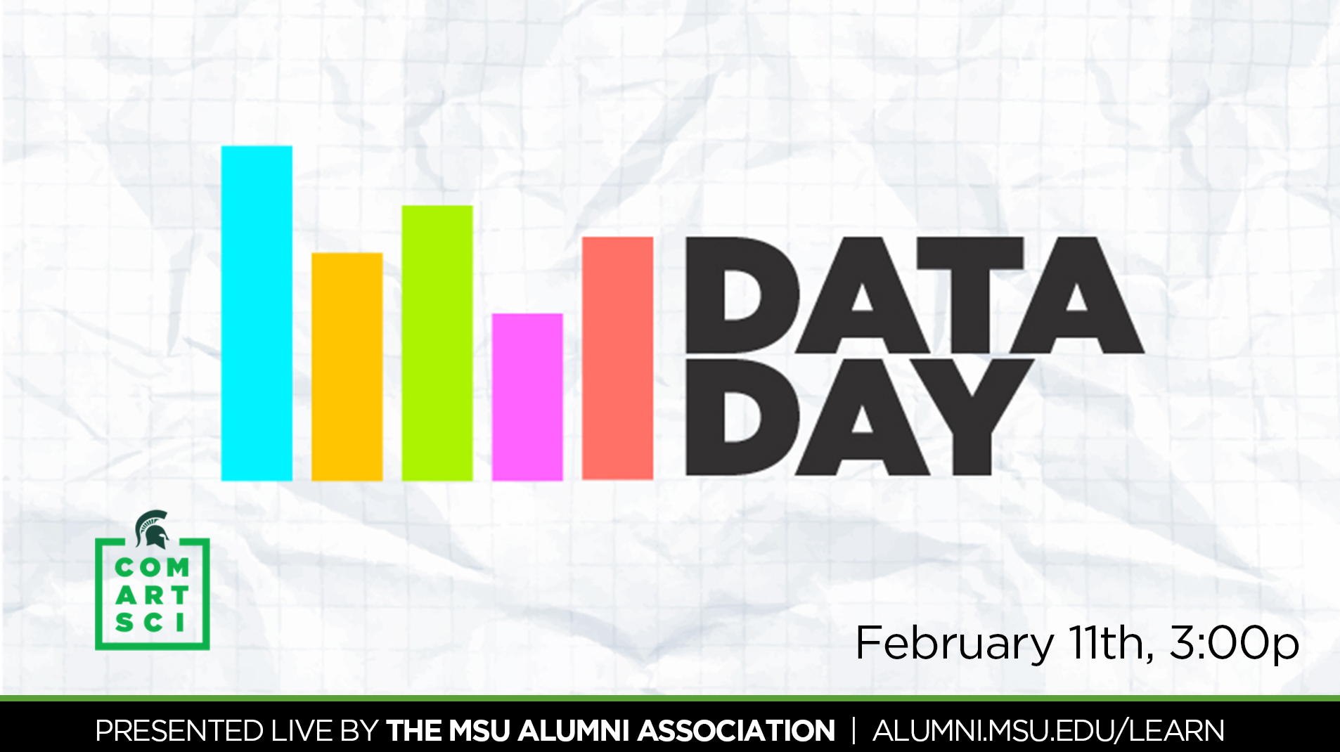 livestream cover image for ComArtSci Data Day 2019