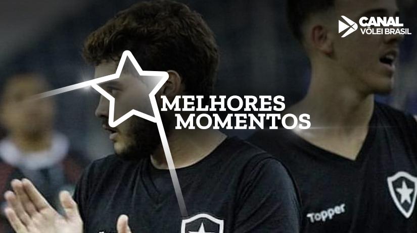 Melhores momentos de Botafogo vs Anápolis Vôlei