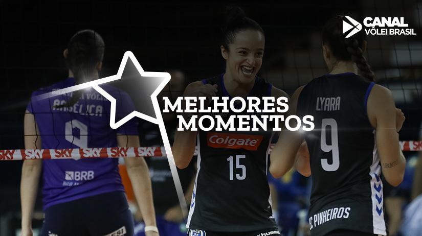 Melhores momentos de E.C.Pinheiros vs SESI Vôlei Bauru