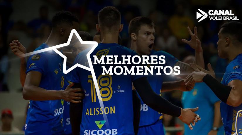 Melhores momentos de São Francisco Saúde / Vôlei Ribeirão vs FIAT/Minas