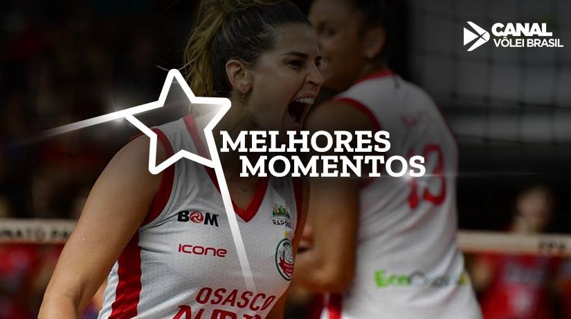 Melhores momentos de Osasco Audax vs BRB/Brasília Vôlei
