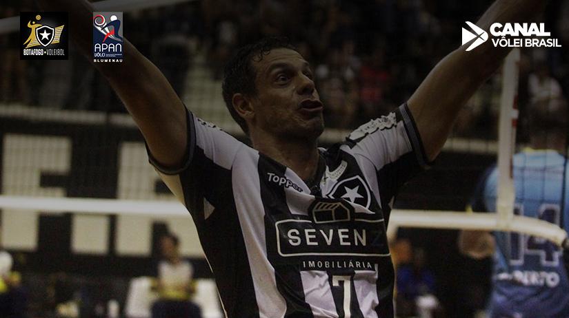 Botafogo Vôlei vs APAN Blumenau 16bffa6f59b1a