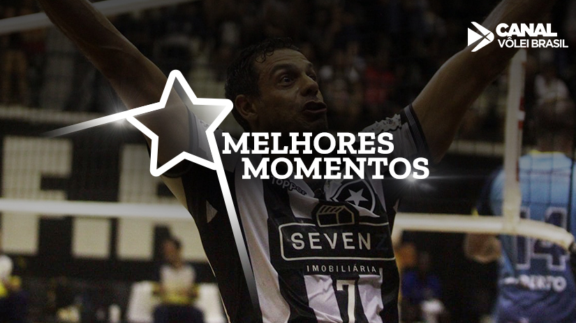 Melhores momentos de Botafogo Vôlei vs APAN Blumenau