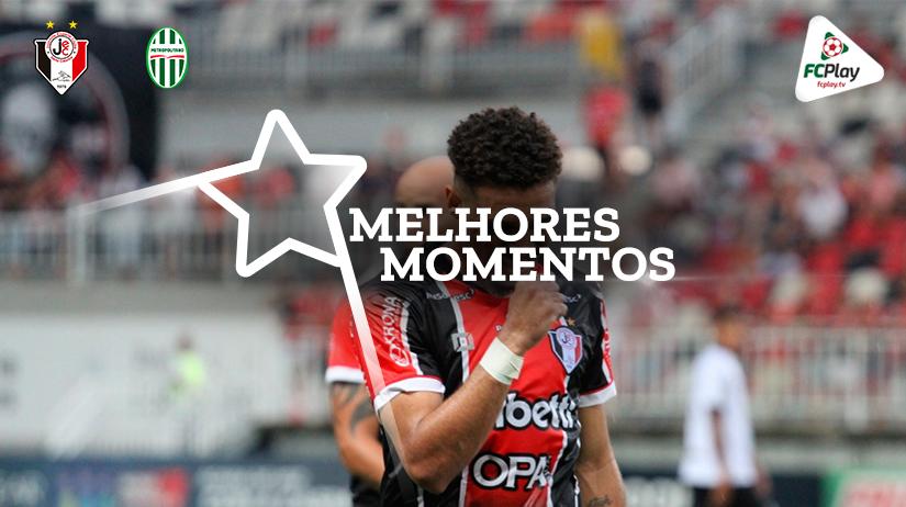 Melhores momentos de Joinville x Metropolitano