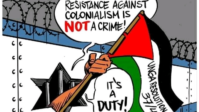 Palestine, Israel and the Fight against the Racists