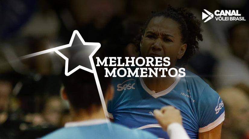 Melhores momentos SESC-RJ vs Balneário Camboriú