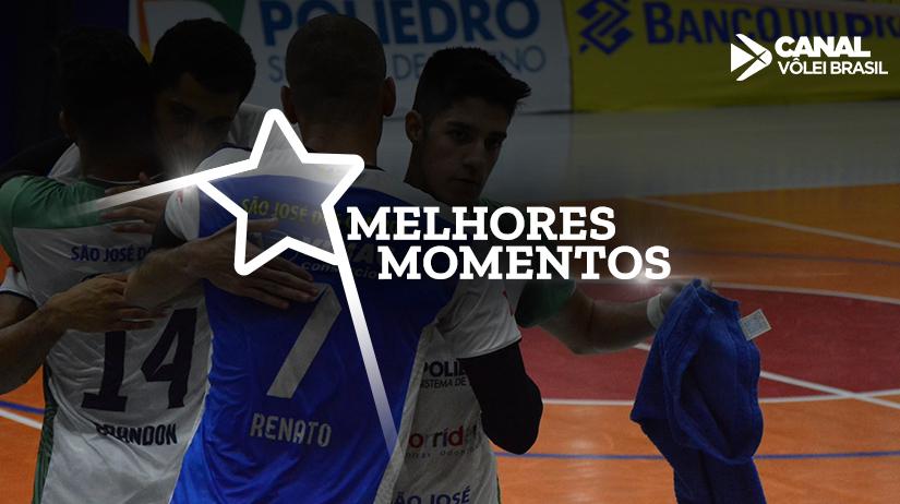Melhores momentos Anápolis Vôlei vs São José