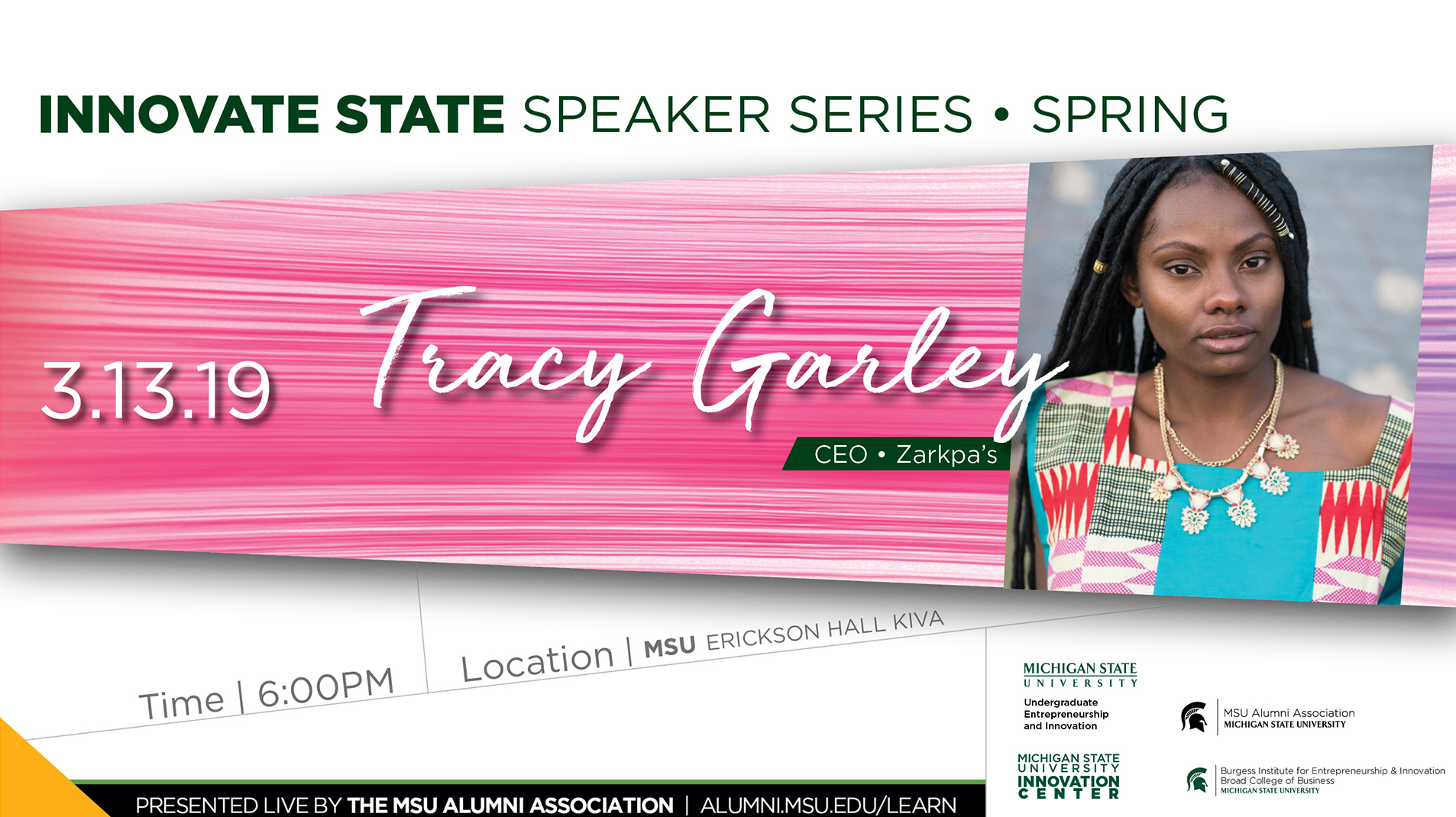 livestream cover image for Innovate State | Tracy Garley