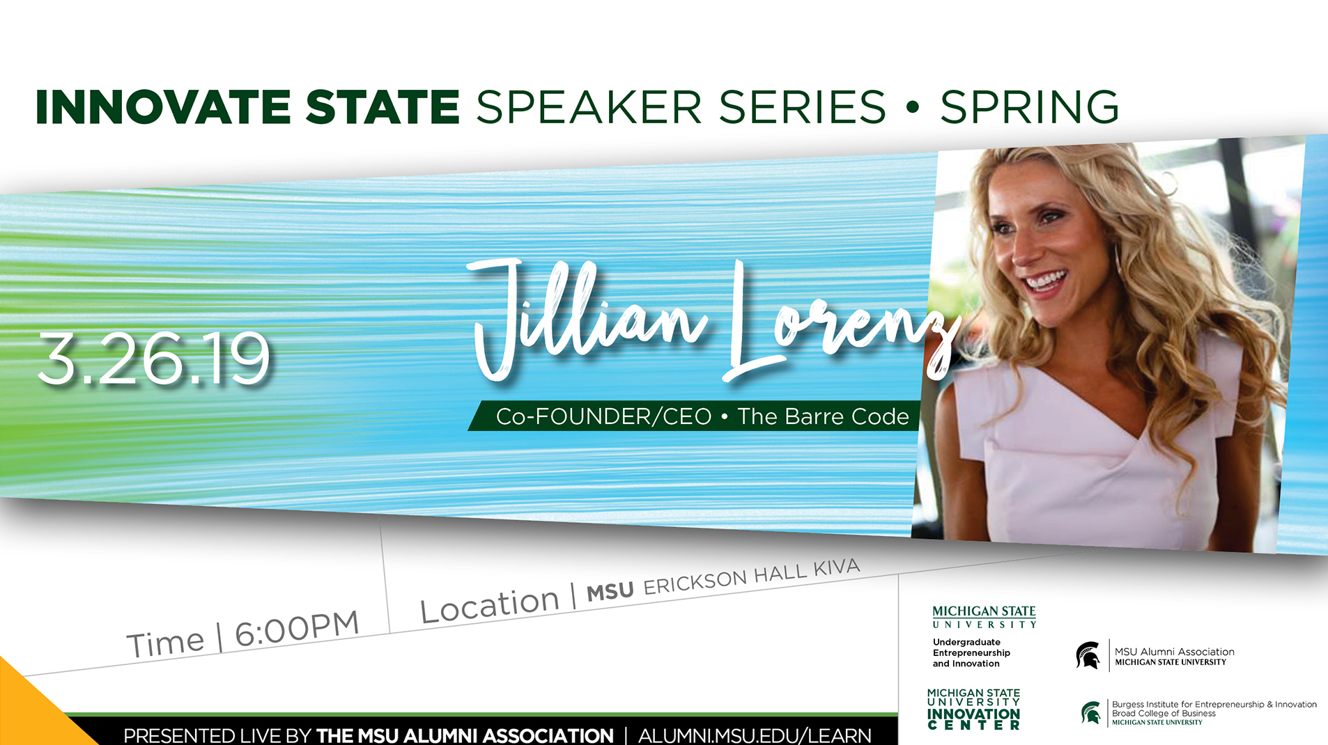 livestream cover image for Innovate State | Jillian Lorenz