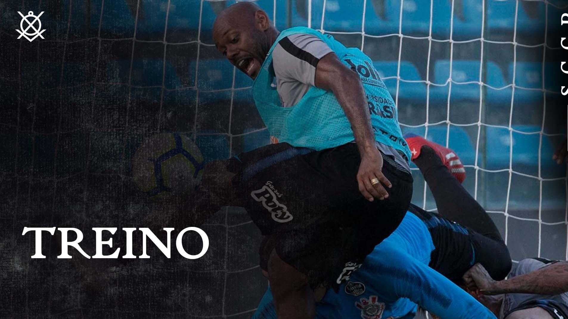 Timão treina em Fortaleza