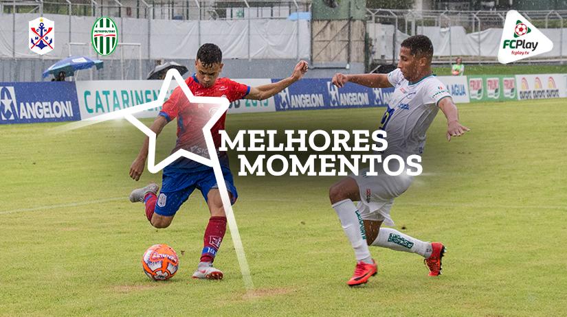 Melhores momentos de Marcílio Dias x Metropolitano