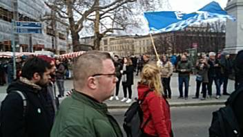 Germans for Scottish Independence March