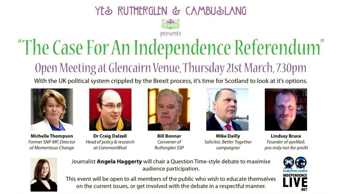 The Case for an Independence Referendum - Yes Rutherglen and Cambuslang