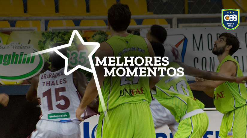 Melhores momentos UNIFAE/São João da Boa Vista vs NBPG/CCR RodoNorte/UniSecal/LDPG