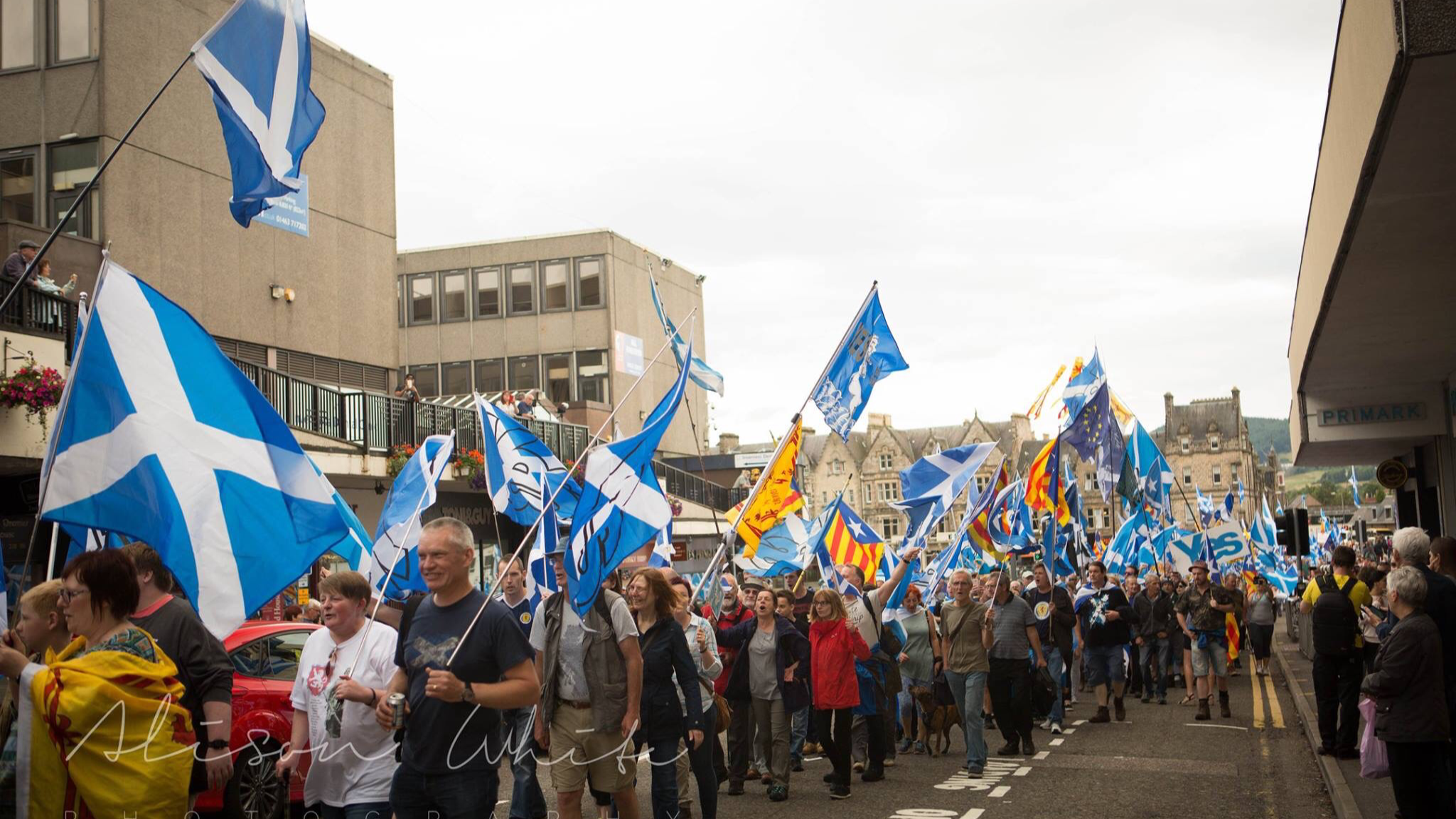 Scotland Standing Up for our citizens- Highlands march Inverness, camera 2