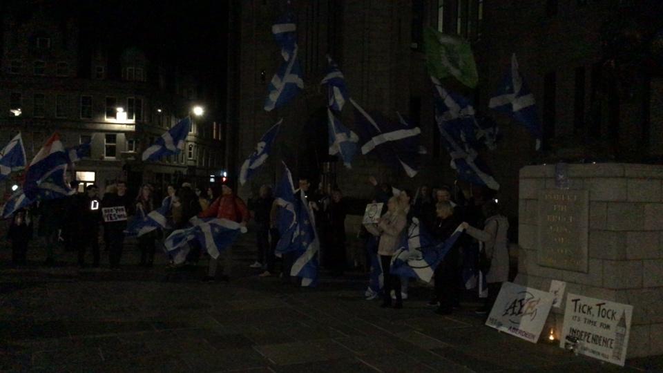 Brexit Flash Mob, Aberdeen