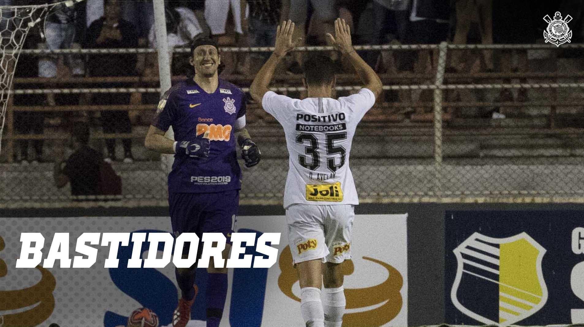 Bastidores de Corinthians vs Ituano