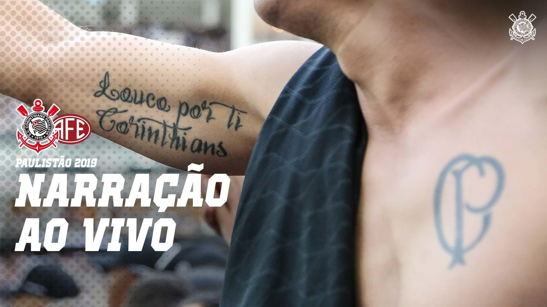 Narração ao vivo - Corinthians vs Ferroviária