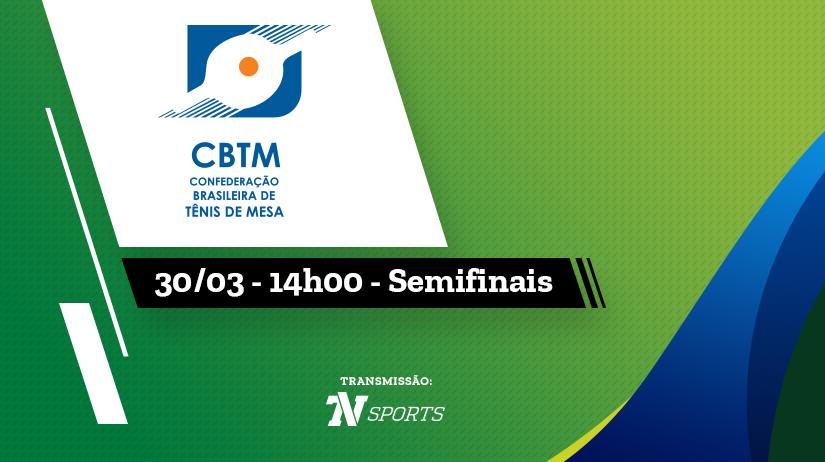 Semifinais Copa Brasil de Tênis de Mesa